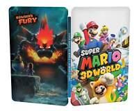 SUPER MARIO 3D WORLD Nintendo Switch Steelbook RARE LIMITED Steelcase no game !