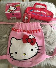 LOT of Vintage Hello Kitty~4 Piece Lot-Mixed Various Items/Sanrio etc CUTE