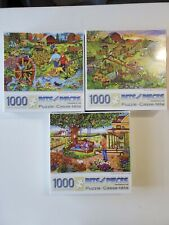 3 Puzzle Lot - Bits and Pieces 1000  - NEW Factory Sealed