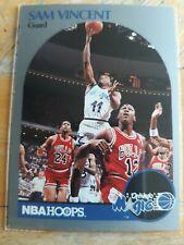 1990-91 NBA Hoops #223 Sam Vincent (Michael Jordan wearing #12) NM+