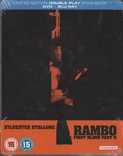 Rambo - Der Auftrag First Blood Part II Blu Ray Steelbook, NEU & OVP