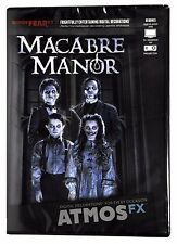 Halloween ATMOSFEARFX MACABRE MANOR DVD WINDOW PROJECTION Haunted Digital Decor
