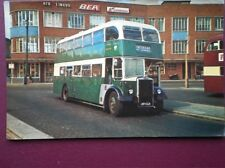 POSTCARD 1965 LEYLAND PD3/4 - CAERPHILLY COUNCIL BUS NO 32