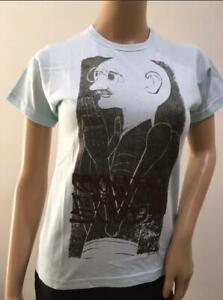 NEW White Funky Mens Ladies Women Unisex GHANDI  T-Shirt   SIZE M