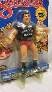 WWF LJN Wrestling Superstars The Magnificent Muraco - MOC - Encased