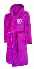 GIRLS 8 9 years LEICESTER TIGERS Dressing Gown Pyjamas Rugby Robe Kids PINK