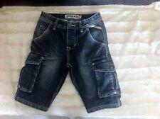 Bermuda jean's garçon CREEKS, 10ANS, Multi poches/Taille réglable,TBE,comme neuf