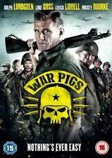 War Pigs DVD 5060262853405 Mickey Rourke Dolph Lundgren Luke Goss