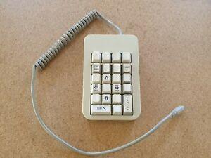 ORTEK Mechanical External Keypad White Alps Switches PS/2 MCK-22 serial keyboard