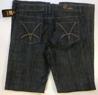 New Kut from the Kloth Straight Leg Jeans RN#58539 - Size 6