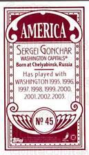 2003-04 Topps C55 Minis American Red #45 Sergei Gonchar