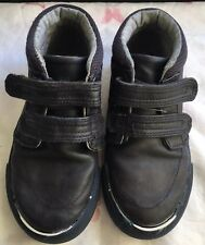 Garçons Debenhams Blue Zoo chaussures enfants Taille 9 in (environ 22.86 cm) noir bon état