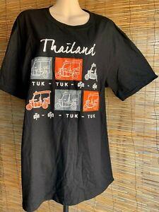 Mens t shirt.Size XL.120cm chest.Tuk-Tuk print.100% thk quality cotton.Brand New