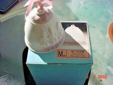 Lladro Christmas Bell 1987 Children Pink And White