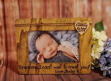 Personalized New Grandmother Picture Frame, Baby anoucment Gift, Mothers Day