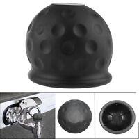50mm Caoutchouc Noir Remorque Protection Barre de Boule Étui Voiture Attelage