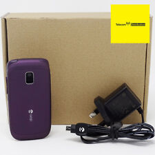 Doro Phone Easy 612 (Purple) Flip Camera Loud Mobile - New Condition - Unlocked