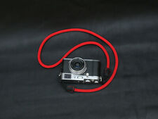 Red 8mm climbing rope handmade Quick-release camera neck shoulder strap
