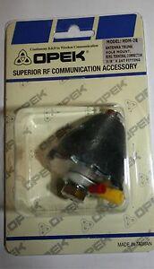"""OPEK HDM-2B 3/8"""" x 24  Gum Drop Thru Body Antenna Mount Hamsticks Firesticks HD"""