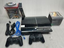 Sony PS3 60GB Backwards Compatible CECHA01 w/ Controllers & Games - FULLY TESTED
