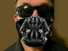 """Hot Bane película estilo 2020 paño de algodón Face Mask 3D Correas Blanco"""""""""""