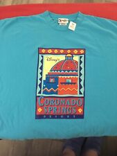 New listing Vintage Disney Coronado Springs Blue Tshirt Shirt Xxlarge New with Tags.