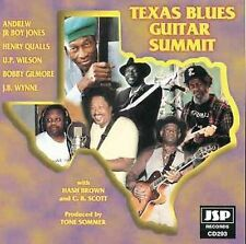 Texas Blues Guitar Summit by Various Artists (CD, Mar-1998, JSP