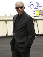 "Morgan Freeman  8""x10"" Great Signed Color PHOTO REPRINT"