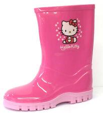 Bebé De Chica Hello Kitty Rosa Botas De Agua