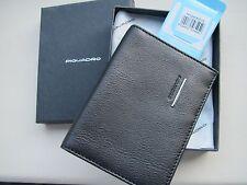 Piquadro Modus black leather travel passport wallet PP1660MO/N