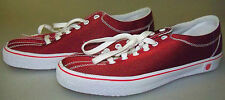 K-SWISS sz 9 WOMENS MAROON RED FASHION SNEAKERS - NWOB - BX  SHOE-10