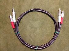 New 15' Belden 1505A High Quality/ Studio Grade Analog RCA Audio Cables