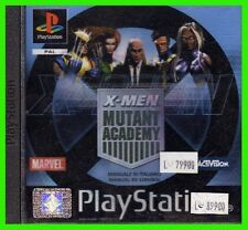 X-MEN MUTANT ACADEMY playstation NUOVO xmen ITA ps1 SIGILLATO play1