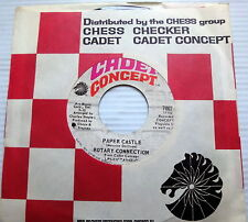ROTARY CONNECTION 45 Paper Castle CADET CONCEPT label w/ LABEL SLEEVE