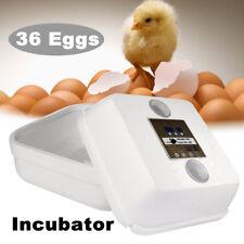 36 Egg Automatic Digital Incubator Chicken Poultry Hatcher Temperature Control