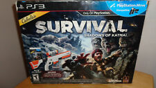 NIB! Cabela's Survival: Shadow of Katmai with Gun (Playstation PS3)