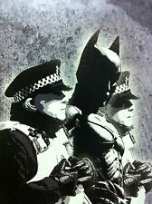 banksy BATMAN  wall decor graffiti art PRINT POSTER A1 SIZE