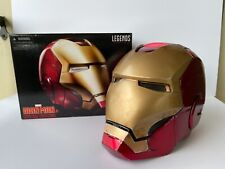 Marvel Legends Iron Man Full Size Helmet Avengers Movie