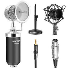 Neewer NW-1500 Desktop Broadcast Recording Condenser Microphone with Stand Kit