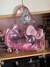 borsa borse Shopper Mare Hello Kitty Sanrio Ottimo Stato A Mano A Spalla