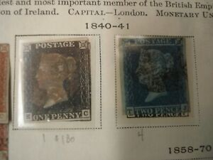 Unpicked GREAT BRITAIN England Stamp Collection on Scott Int'l album pages 1840-
