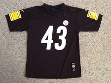 PITTSBURGH STEELERS TROY POLAMALU JERSEY YOUTH LARGE