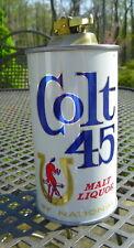 Colt 45 Steel Can Lighter National Brewing Co. N.O.S. Beer Item