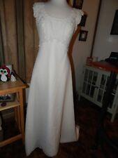 Vintage Romantic Bridal Wedding Dress Size 12
