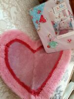 Fairies pink double duvet and matching rug new!