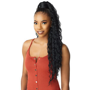 SENSATIONNEL SYNTHETIC PONYTAIL INSTANT PONY WRAP - RIPPLE WAVE 30""