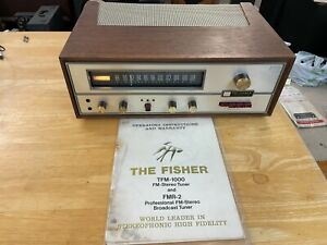 Fisher TFM-1000 Solid State Tuner