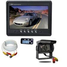 Kit retromarcia monitor + telecamera CCD nera con cavo 20 metri - camper