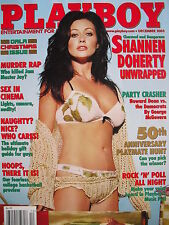 SHANNEN DOHERTY December 2003 Playboy SARAH & DEISY TELES 50th Ann Playmate Hunt