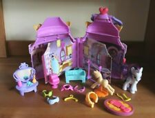 My Little Pony Play House Castle Handle Carry Case with accessories